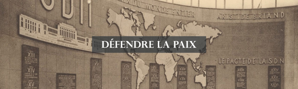 Guide des sources de la paix à La contemporaine