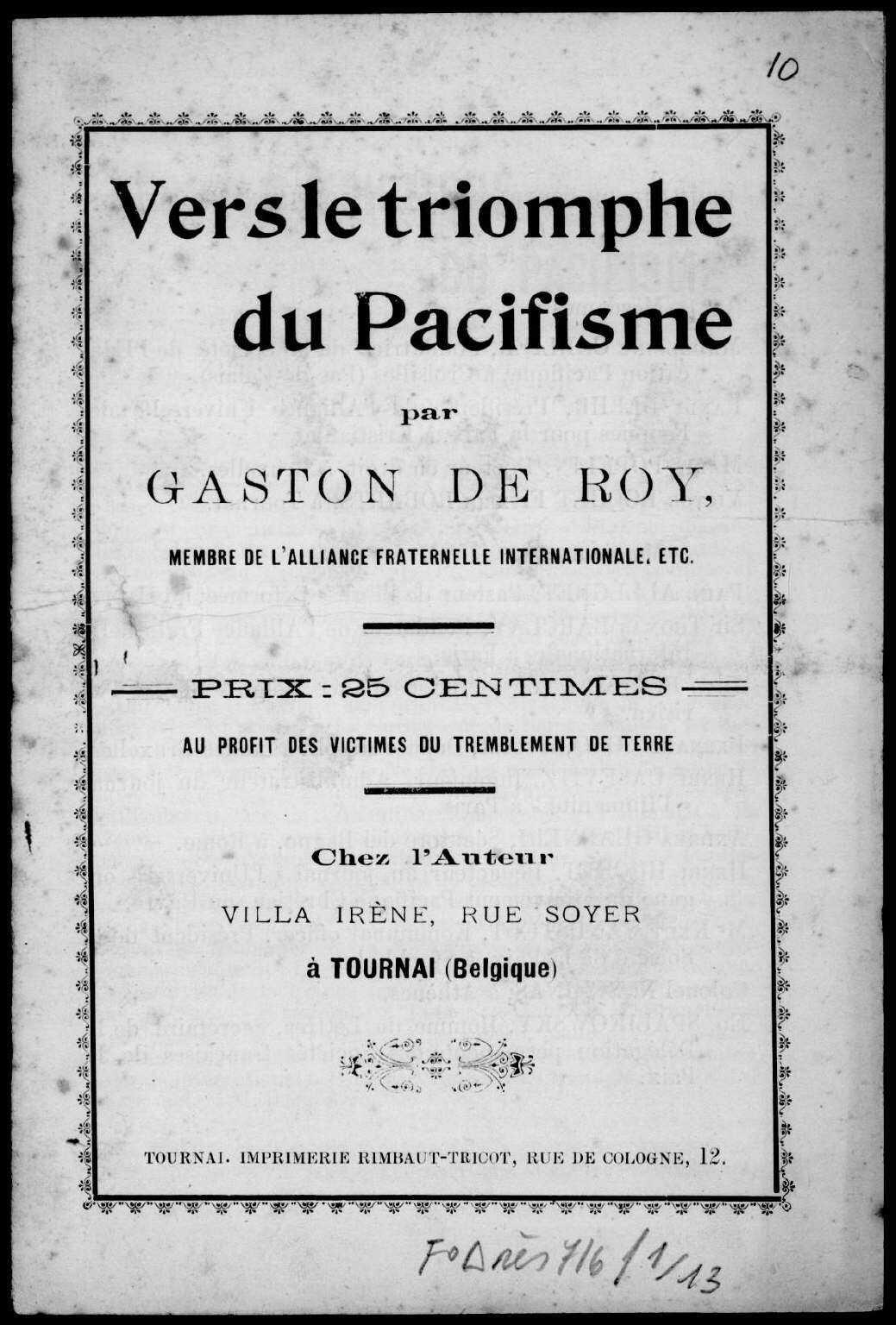 Gaston de Roy