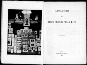 Catalogo del Museo storico della pace